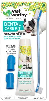 Dog dental care kit