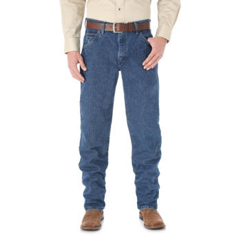 Wrangler - Men's Premium Performance Cool Vantage Cowboy Cut Regular Fit Jean