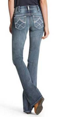 Women's R.E.A.L. Boot Cut Multi Stitch Jean