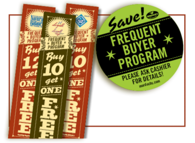 Pet Food Frequent Buyer Program at Murdoch's Ranch and Home Supply