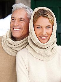 Unisex Neckwarmer in Silk Cotton