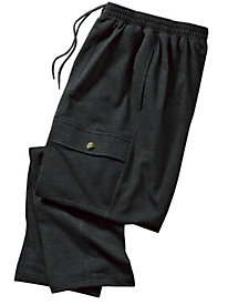 Men's 5-Pocket French Terry Cargo Sweatpants by Norm Thompson