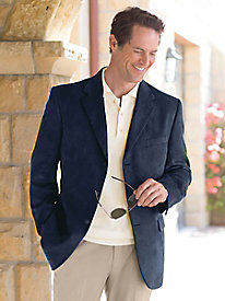 Men's Traveler's Suede Jacket