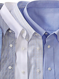 Men's 100% Cotton No-Iron Shirt by Enro
