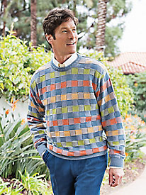 Men's Citrus Skies Cotton Sweater