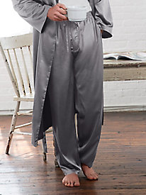 Men's Washable Silk Charmeuse Sleep Pant
