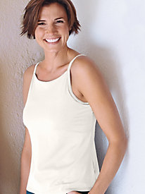 Women's Microfiber Full-Coverage Perfect-Fit Cami