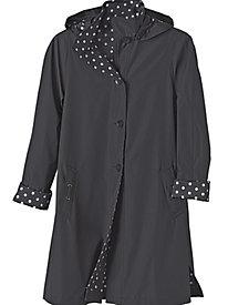 Women's Polka-Dot Raincoat
