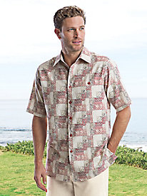 Silk/Cotton Java Cove Shirt