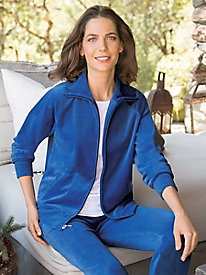 Women's Velour Warm-Ups
