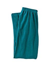 Women's Velour Warm-Up Pants