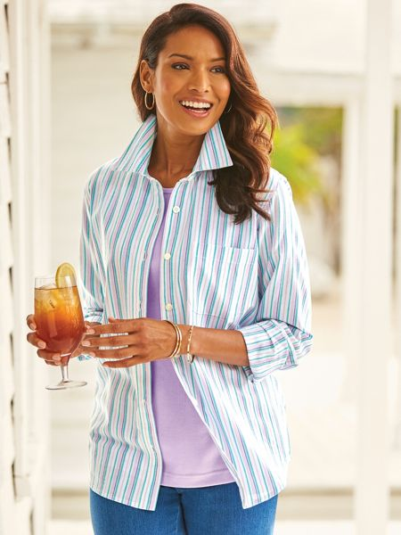 Wear Anywhere Chambray Shirt Blair