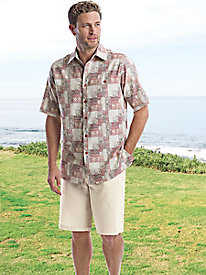 Men's Linen-Rich Shorts