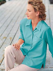 Women's Long-Sleeved Camp Shirt