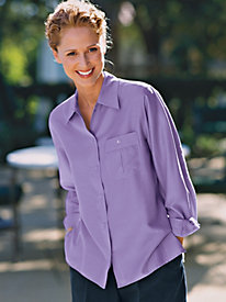 Women's Long-Sleeved Camp Shirt