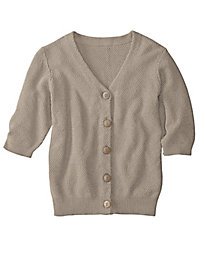 Women's Seedstitch Cardigan Sweater