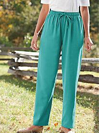 Women's Total-Comfort Twill Pants