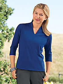 Women's Prima Cotton Narrow-V Tee
