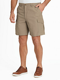 Full Elastic Cargo Shorts