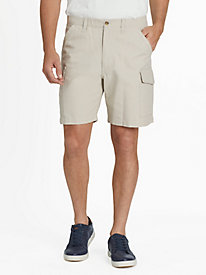 Full Elastic Cargo Shorts