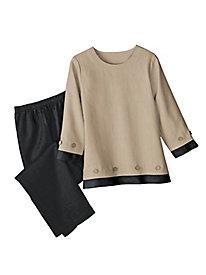 Women's Casual 3/4-Sleeve Tunic