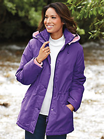 Weather-Resistant Microfiber Jacket