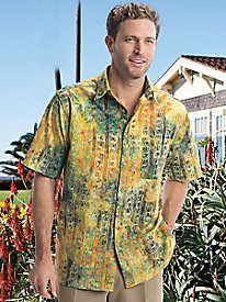 Men's Cotton Lawn Batik Shirt