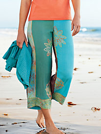 Women's Bali Sands Cropped Pants