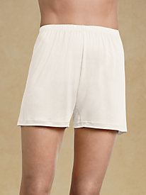 Washable Silk Split-skirt Boxer Slip for Her