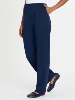 Women's Knit Pants | Elastic Waist Knit Pants | Blair