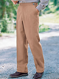 Men's Always-Fit Plain Primo Poplin Pants