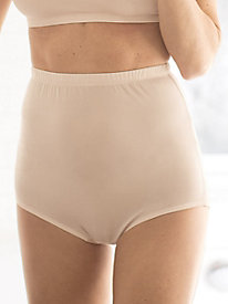 Washable Filament Silk Classic Rise Brief