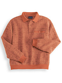 John Blair Bouclé Fleece Shirt
