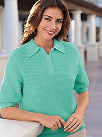 Women's Linen/Cotton Polo