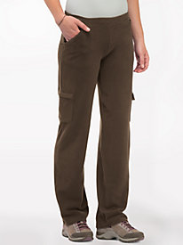 Women's Stretch ButterFleece Cargo Pants