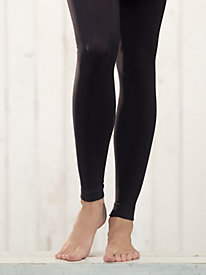 Women's Footless Fleece-Lined Tights