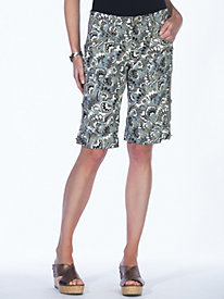 Women's Rock 'n' Roll Print Shorts