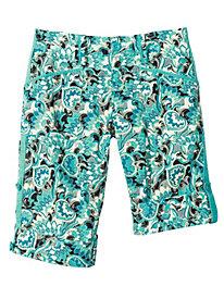 Rock 'n' Roll Print Shorts