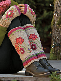 Women's Handknit Boot Sweaters