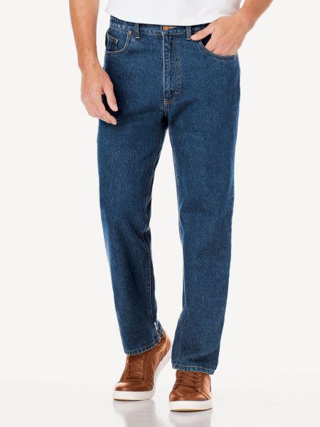 Men's Side-Elastic Jeans   Scandia Woods Jeans   Blair