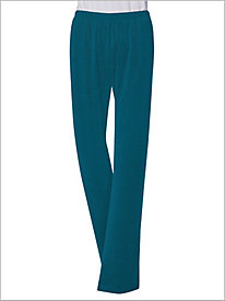 Velour Pull-on Pants by D&D Lifestyle?