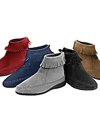 Comfort Ease� Fringed Boots