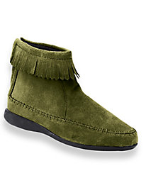 Comfort Ease® Fringed Boots