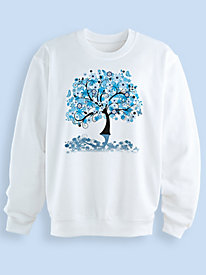 Screen Print Fleece Sweatshirt