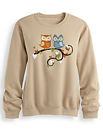 Screen Print Fleece Sweatshirt