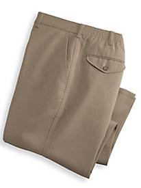 John Blair® Back Elastic Slacks