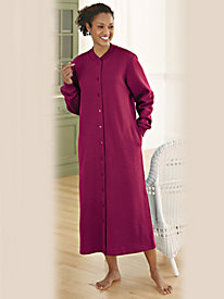 Brushed Fleece Robe