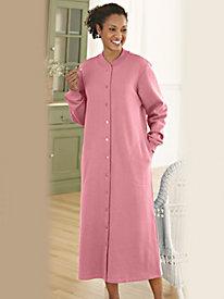 Brushed Fleece Robe