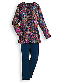 Elisabeth Williams® Tunic Pants Set