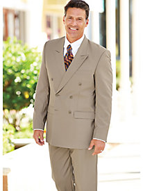 Personal Choice� Double-Breasted Suit Separates